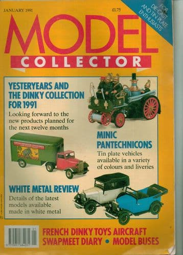 ORIGINAL MODEL COLLECTOR MAGAZINE January 1991