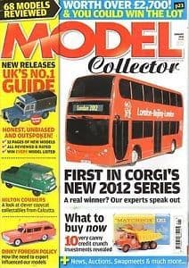 ORIGINAL MODEL COLLECTOR MAGAZINE January 2010