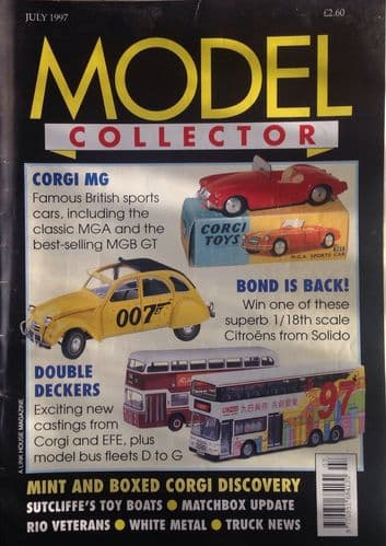 ORIGINAL MODEL COLLECTOR MAGAZINE July 1997