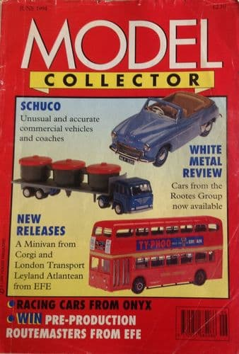 ORIGINAL MODEL COLLECTOR MAGAZINE June 1994