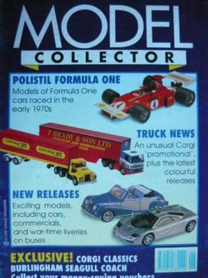ORIGINAL MODEL COLLECTOR MAGAZINE June 1995