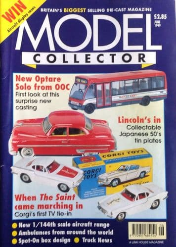 ORIGINAL MODEL COLLECTOR MAGAZINE June 1999