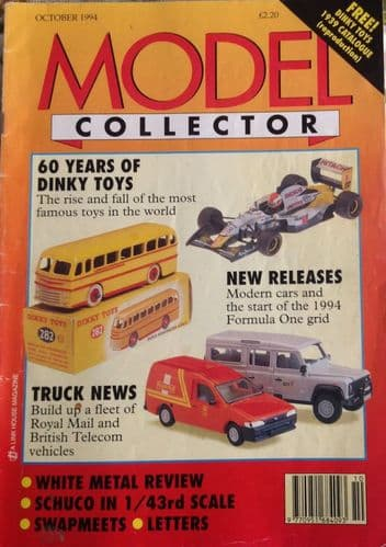 ORIGINAL MODEL COLLECTOR MAGAZINE October 1994