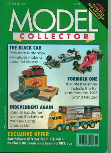 ORIGINAL MODEL COLLECTOR MAGAZINE October 1995