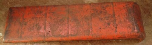 Original Tri-ang / Triang Large pressed steel Double decker Roof panel Red [ price is per panel ]