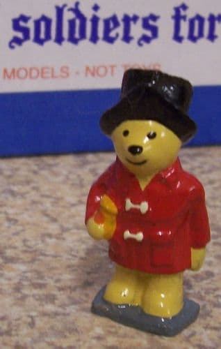 Paddington Bear 1 ¾ high assorted colours and painted to a superb standard