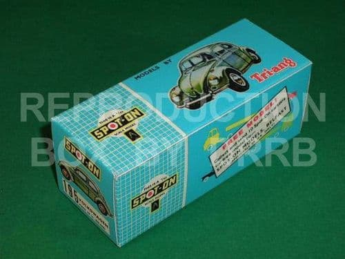 Spot-On #195 Volkswagen (Rally Car) - Reproduction Box