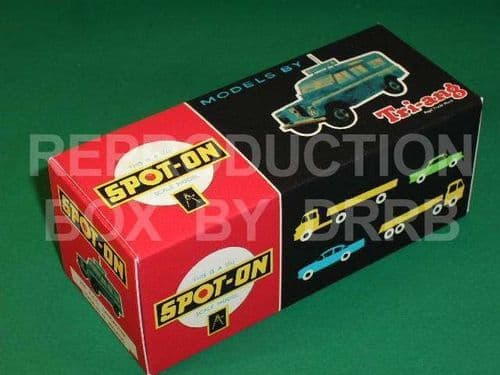 Spot-On #258 R.A.C. Land Rover (LWB) - Reproduction Box
