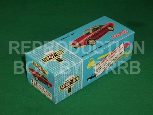 Spot-On #261 Volvo P.1800 - Reproduction Box