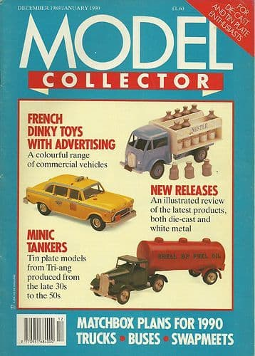 ORIGINAL MODEL COLLECTOR MAGAZINE December 1989 / January 1990