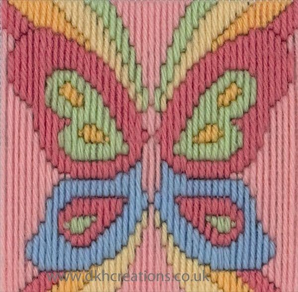 Beth The Butterfly 1st Kit  Long Stitch Kit