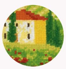 Buildings, Landscapes And Seaside Cross Stitch