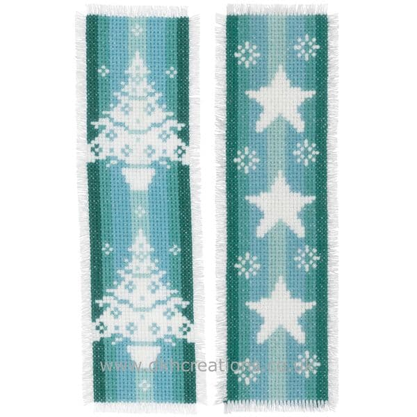 Christmas Nordic Winter Bookmarks  Cross Stitch Kit