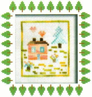 Country House Cross Stitch Kit