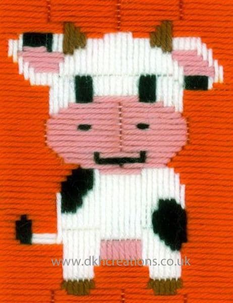 Cow Long Stitch Kit