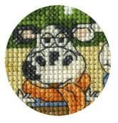 Cows On The Moo-ve Cross Stitch