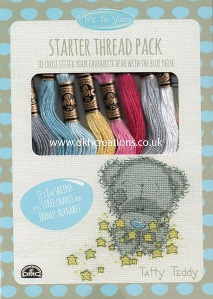 DMC Me To You Tatty Teddy Thread Pack