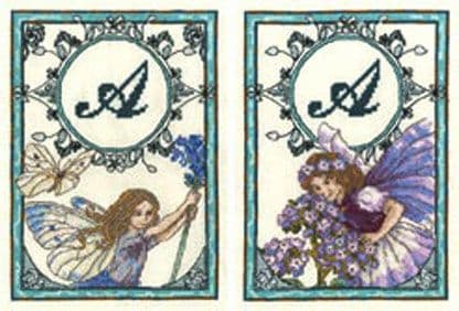 Flower Fairies High Summer Heliotrope & Lavender Fairy Cross Stitch Kit