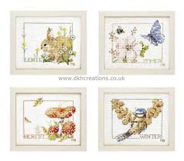 Four Seasons Cross Stitch Kit
