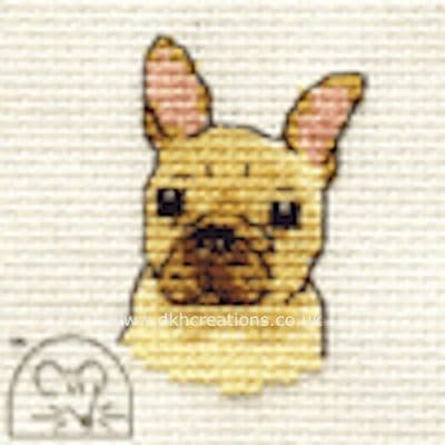 French Bulldog Dog Cross Stitch Kit