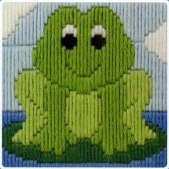 Frog 1st Kit  Long Stitch Kit
