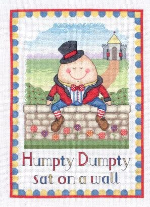 Humpty Dumpty Cross Stitch Kit