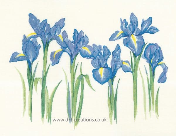 Irises Cross Stitch Kit