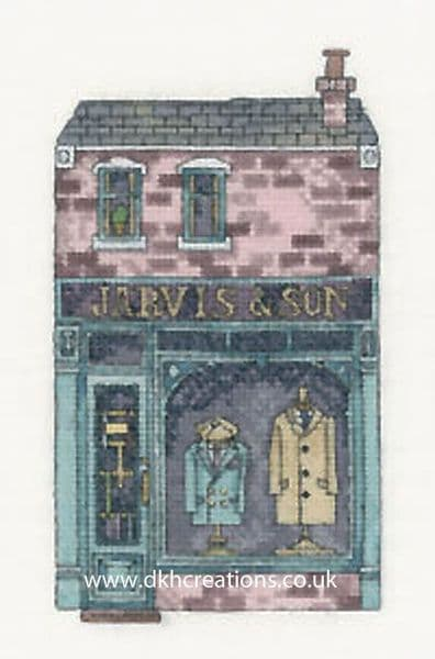 Jarvis & Son Shop Cross Stitch Chart