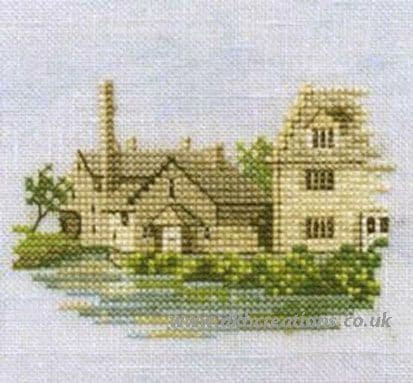 Lower Slaughter Minuets Cross Stitch Kit