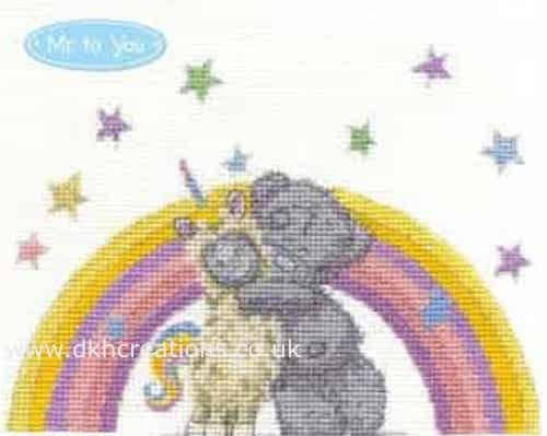 Me To You Tatty Teddy Llamacorn Hugs Cross Stitch Kit