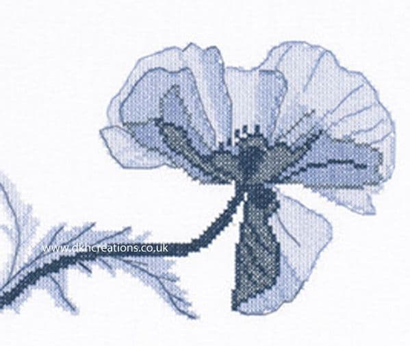 Poppy I Cross Stitch Kit
