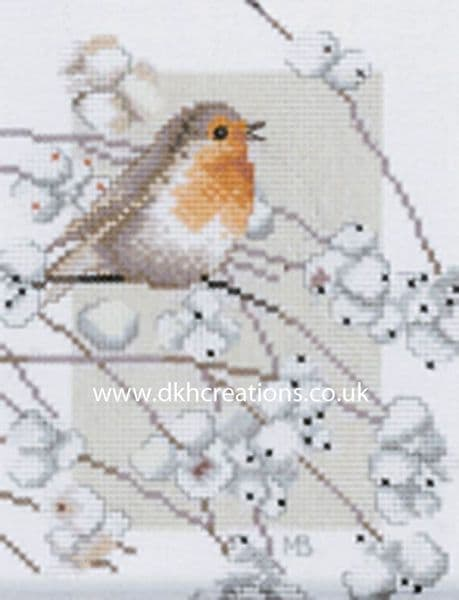 Robin Cross Stitch Kit