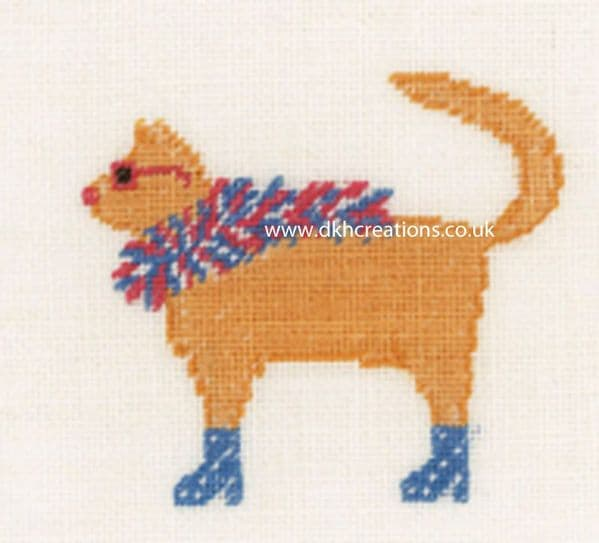 Rock Cats II Cross Stitch Kit