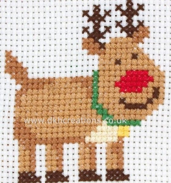 Rudolph 1st Kit Cross Stitch Kit