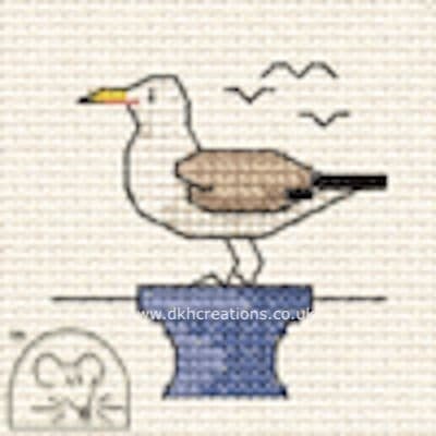 Seagull By The Seaside Cross Stitch Kit