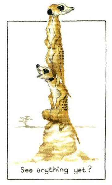 See Anything Yet ? Cross Stitch Kit