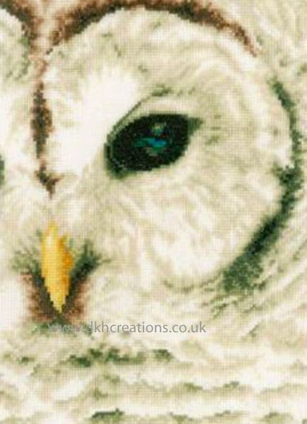 Snow Owl Cross Stitch Kit