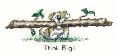 Think Big Cross Stitch Kit