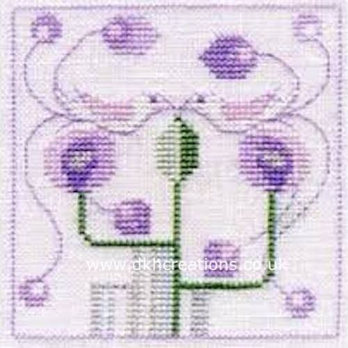 Two Love Birds Minuets Cross Stitch Kit