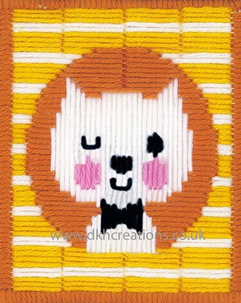 Winking Cat Long Stitch Kit
