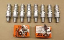 Alvis.B80.Spark plugs and contact set.