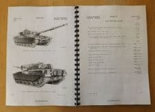 Chieftain. MK1,1/2,2,3 and 3/3. Technical handbook.Technical description.