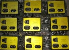Control boxes.