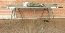 Lightweight collapsable stretchers and trestles.