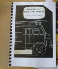 Manual of fire appliances. For mobile fire columns.