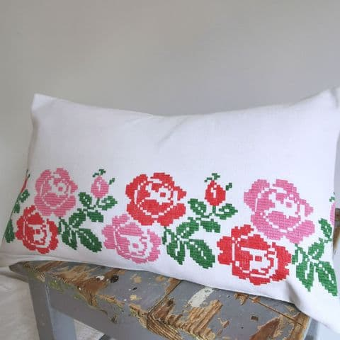 Cushion Covers from Vintage Embroidery      .
