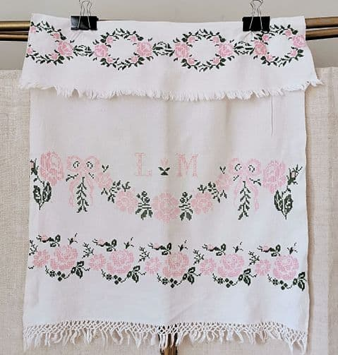 Embroidered Panel  ( apron)