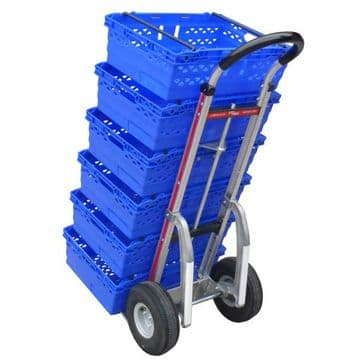 Grocery Delivery Magliner with Tote Bin Hook <br />419-G1FOLD-1060-TOTE-C5