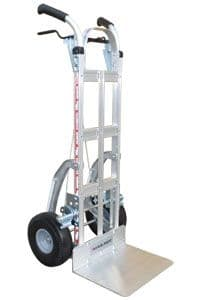 Heavy Duty Pistol Grip Brake Truck with Stairclimbers <br />Model: 216-K1-1010-C5-BR