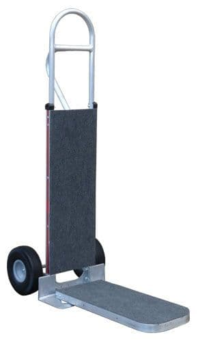 Magliner Hand Truck with Carpeted Frame and Folding Nose <br />115C-UM-1010-301052